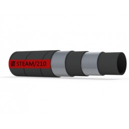 Steam hose, +210°C - teste